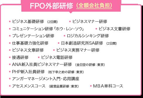 FPO外部研修(全額会社負担)